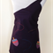 Japanese styled apron - spinning tops - appliqued on navy